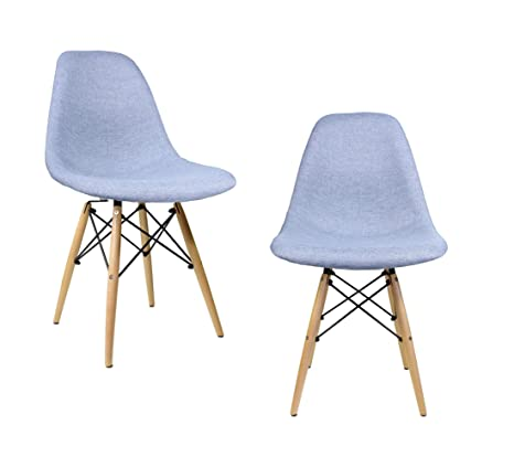 Admirable Amazon Com Mid Century Modern Woven Fabric Upholstered Caraccident5 Cool Chair Designs And Ideas Caraccident5Info