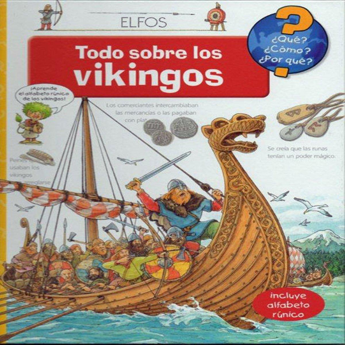 Todo sobre los vikingos (¿Qué?): Amazon.es: Aa.Vv.: Libros