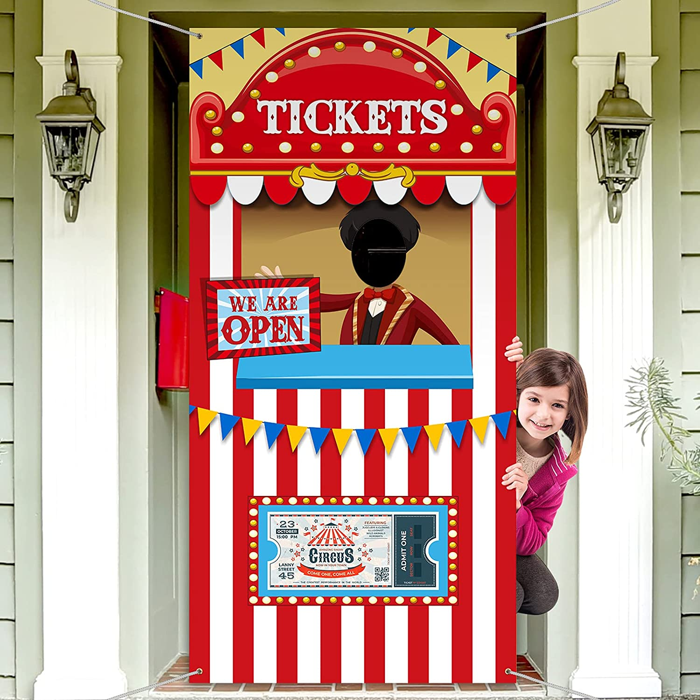 Circus Door Banners