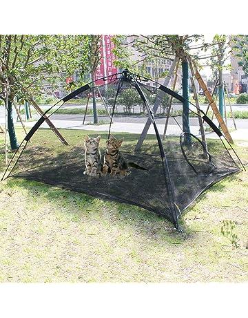 06df45aa30b3 Hi Suyi Portable Large Pop Up Pet Cat Tents Enclosures for Outside Patio