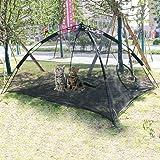 Gaorui Portable Large Pop Up Pet Cat Tents Enclosures for Outside Patio