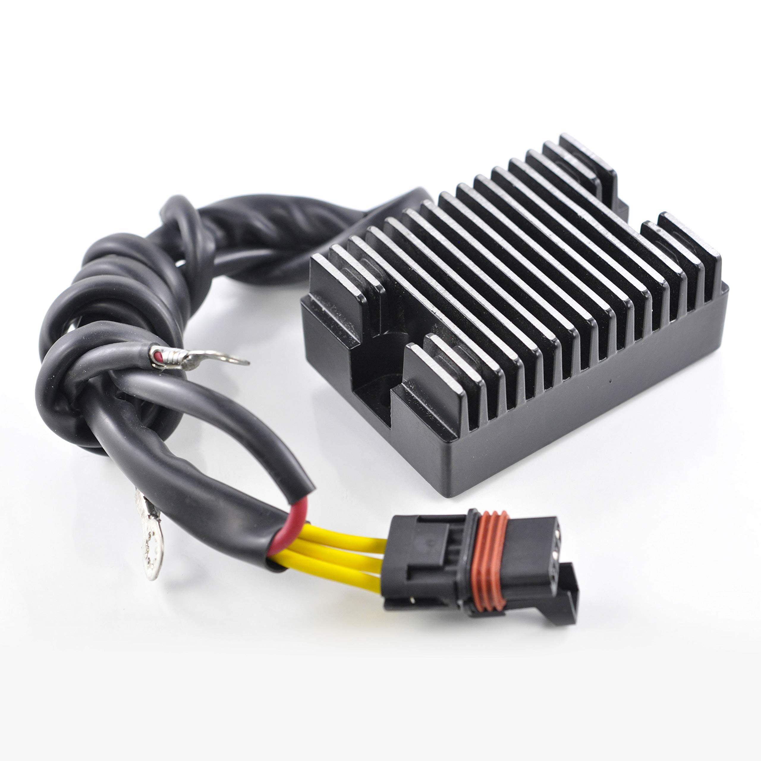 Mosfet Voltage Regulator Rectifier For Victory V92C Cruiser / V92C Deluxe Cruiser / V92SC Sport Cruiser 2001 OEM Repl.# 2410209