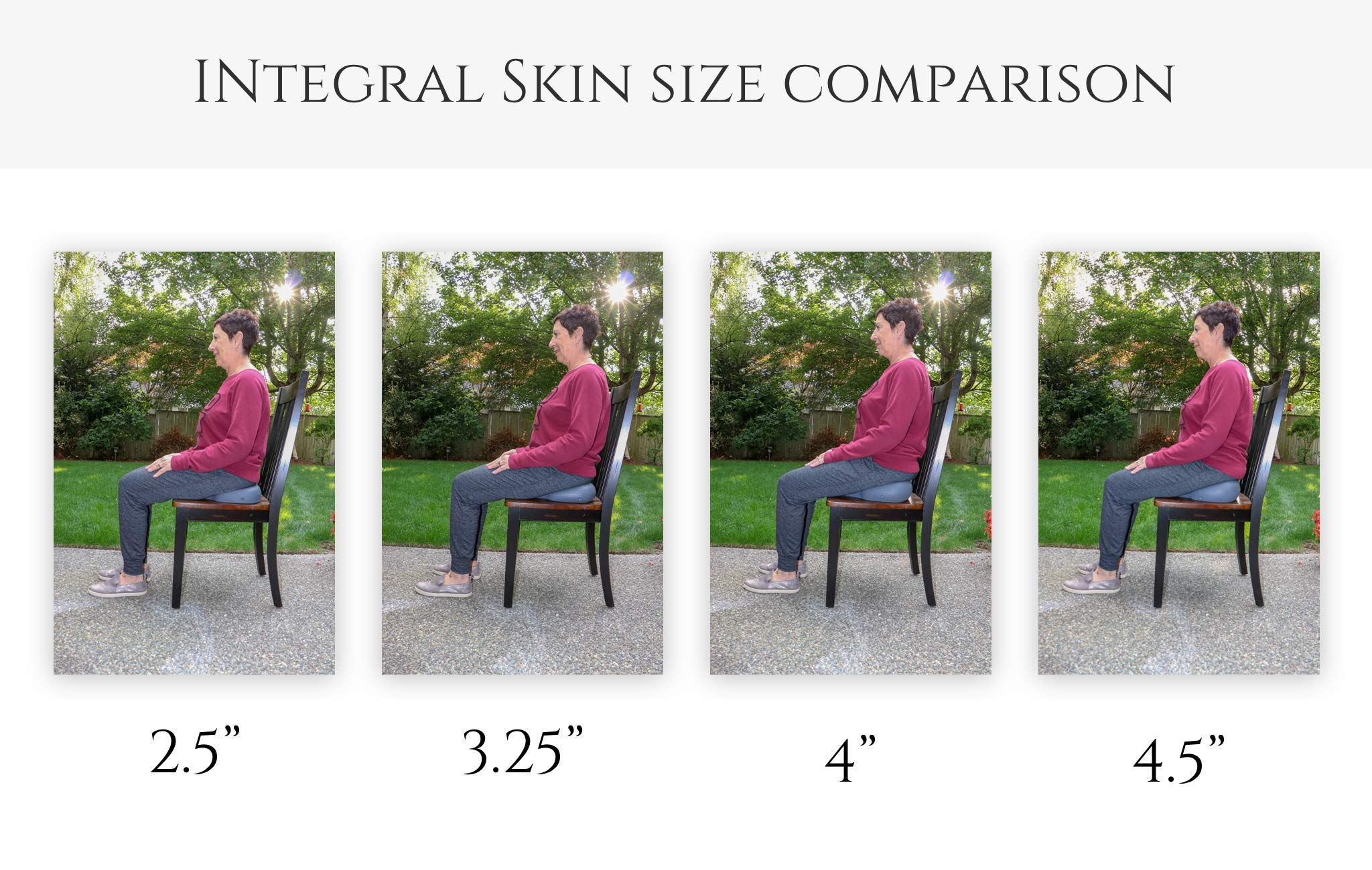 SITTS Posture Cushion Memorial Day Special 3.45'' Original Foam Wedge Cushion, Hamstring Pressures Reduced and Sciatica Relief with Easy Posture in Office Seat Cushion, Commute. Feel Alignment Ease.