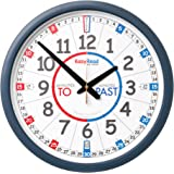 EasyRead time teacher ERCC-EN Classroom Clock, Past To