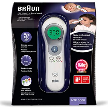Braun No-Touch Stirnthermometer NTF3000  Amazon.de  Drogerie ... c68fdafd46a90