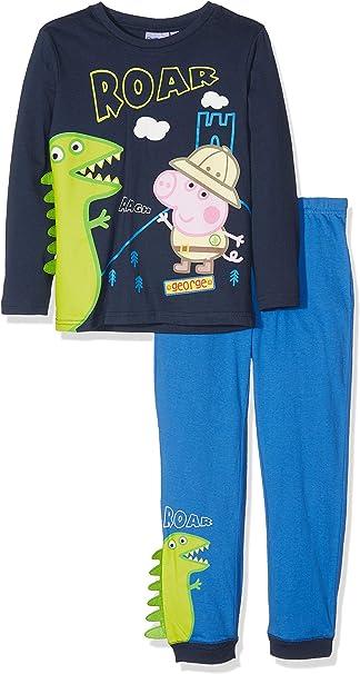 Peppa Pig Ensemble De Pyjamas George Pig Garçon