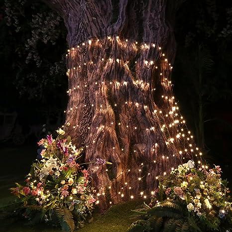 Christmas Tree Lights, LED Net Lights Christmas Tree Decorations 9.8ft x  6.6ft 330 - Amazon.com : Christmas Tree Lights, LED Net Lights Christmas Tree