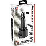 Maglite Mag-Tac LED Rechargeable Flashlight System- Crowned-Bezel, Black