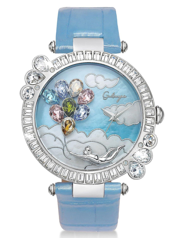 [ガルティスコピオ] Galtiscopio 腕時計 BBSS001LBULS BB8 ライトブルー スワロフスキー クリスタル キラキラ ユニセックス 日本正規総代理店 [正規輸入品] [時計] B07FX8FZ15