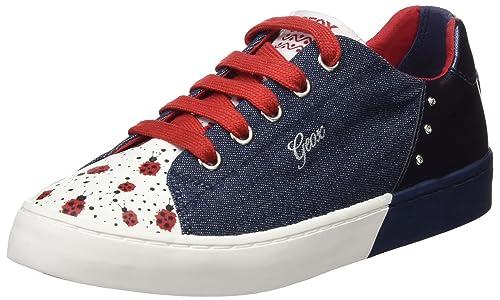 Geox Jr Ciak D, Zapatillas para Niñas, Azul (Jeans/Navy), 39 EU