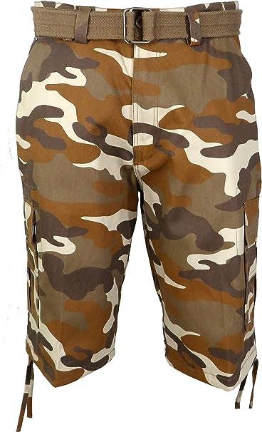 Men/'s Heavy Twill Cargo Short Washed Pants