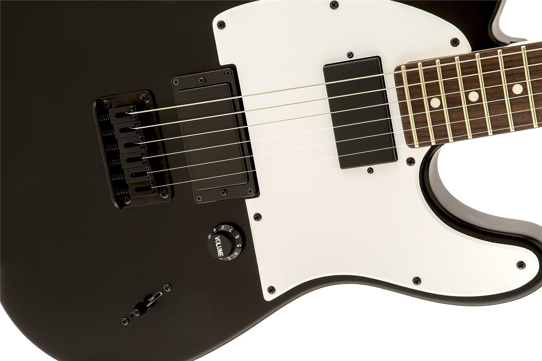 Guitarra Eléctrica Squier Jim Root Telecaster Flat BLK: Amazon.es: Instrumentos musicales