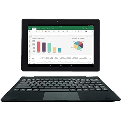 28a388a1e  2 Bonus Item  Simbans TangoTab 10 Inch Tablet + Keyboard 2-in-1 Laptop