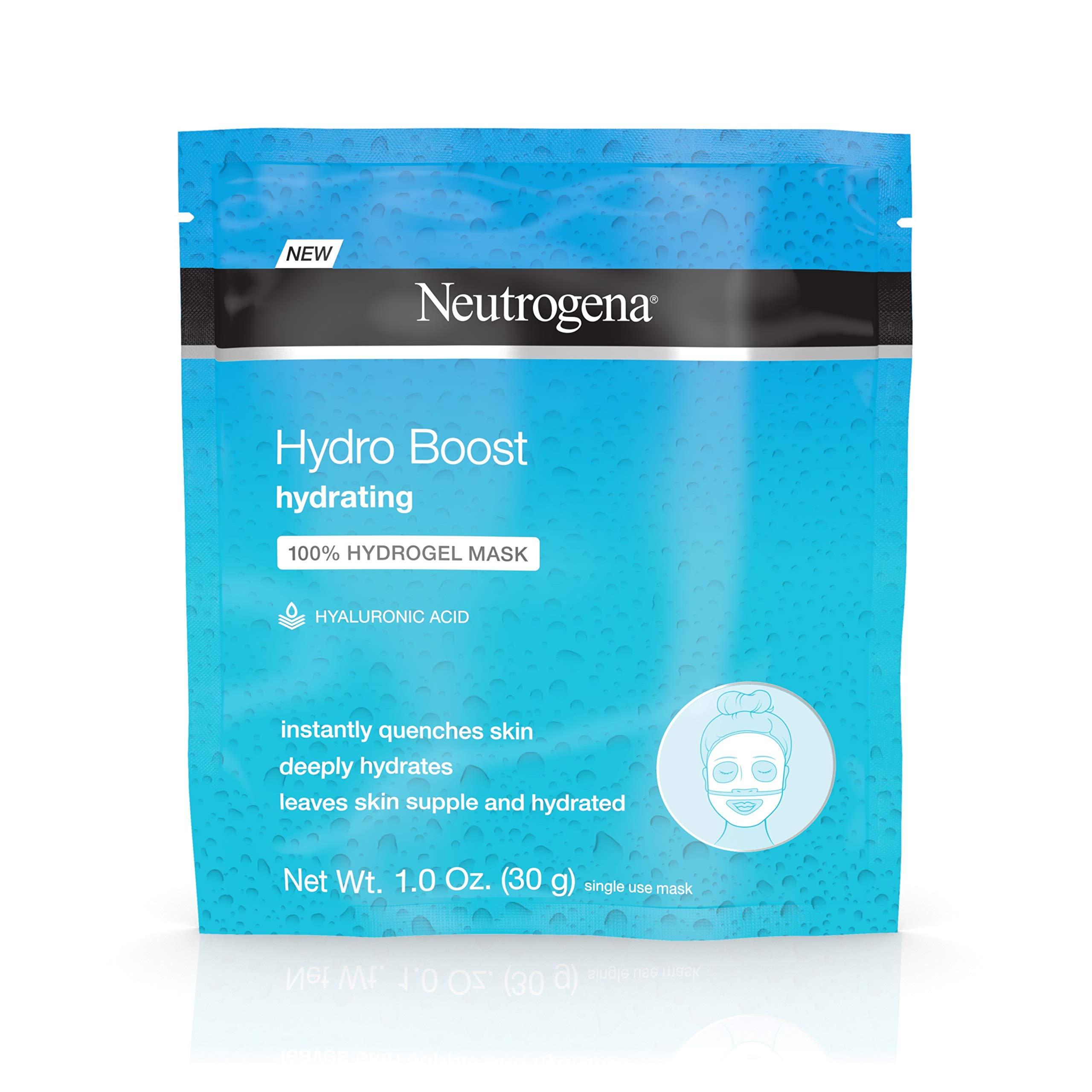 Neutrogena Hydro Boost Hydrating Hydrogel Mask, 1 Single Use Mask