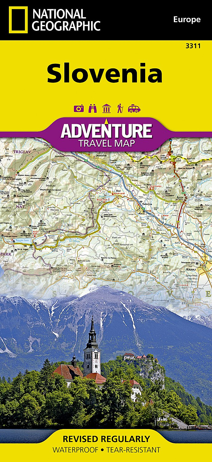 Slovenia National Geographic Adventure Map National Geographic