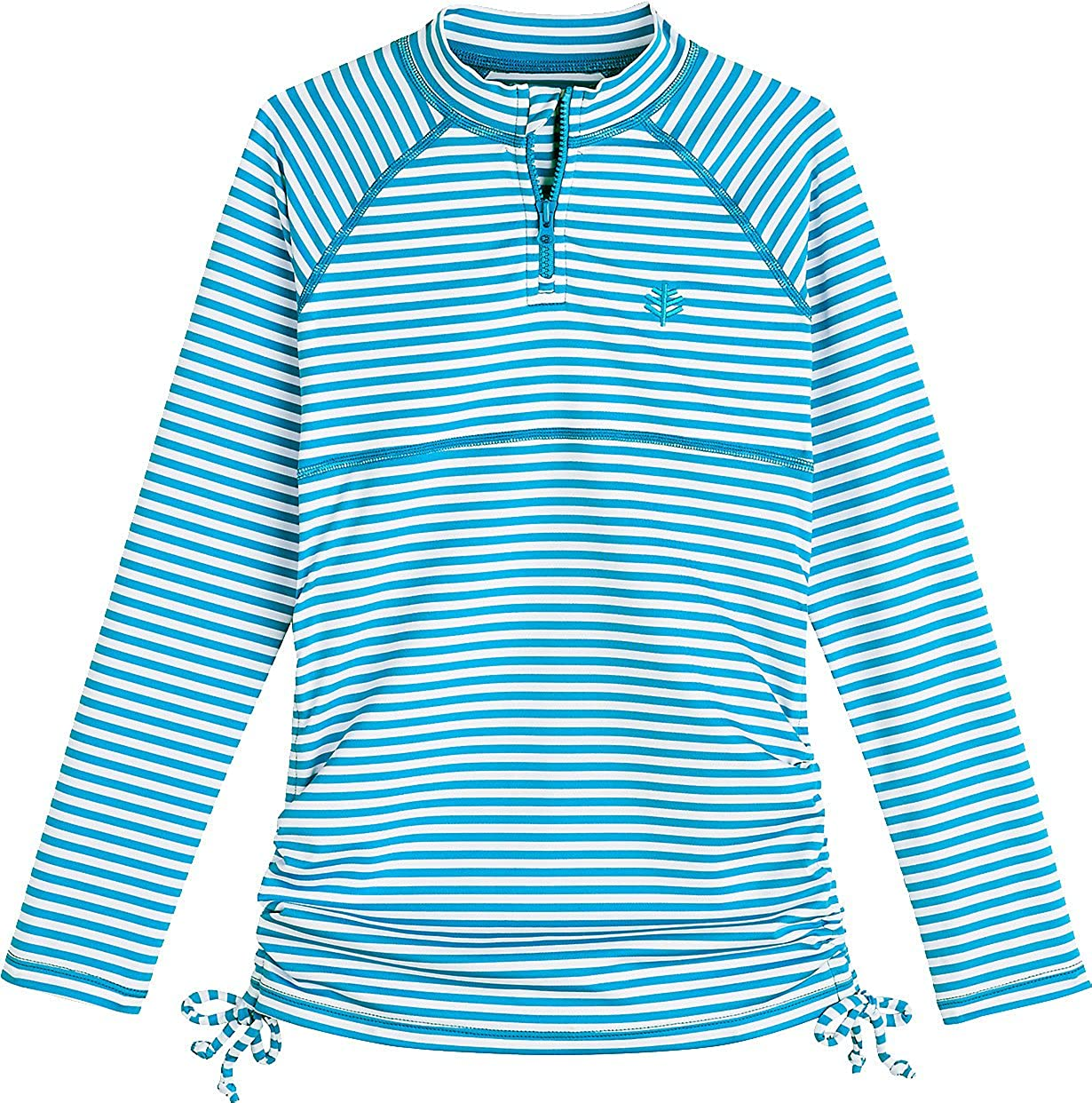 Sun Protective Girls Ruche Swim Shirt Coolibar UPF 50