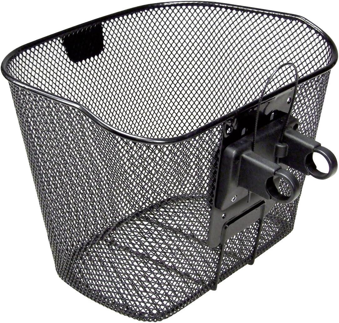 schwarz paarweise Korb Fix II Adapter Korb Befestigung für engmaschige Körbe