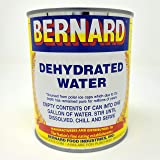 Bernard Food Industries Dehydrated Water 8oz Can. New Formula! Essential Camping & Survival Supply. Funny Gag Gift…