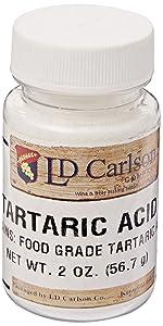 Tartaric Acid - 2 oz