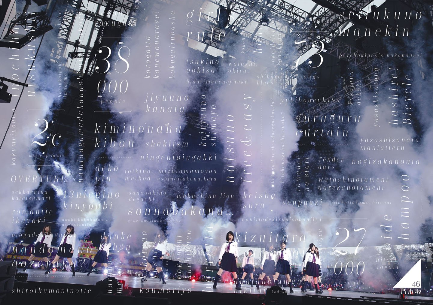 乃木坂46 3rd YEAR BIRTHDAY LIVE 2015.2.22 SEIBU DOME [Blu-ray] B01EVCOKFS