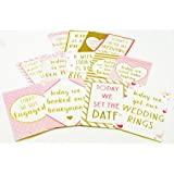15 Memorable Moments Cards Wedding Plans Milestone Keepsake Bride Gift Ideas Her