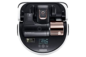 Samsung POWERbot R9250 Robot Vacuum Large Dust Bin Ideal for Carpets & Hard Floors Works with Amazon Alexa and the Google Assistant