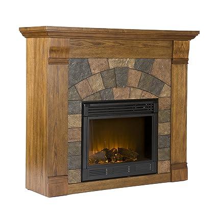 Amazon Com Southern Enterprises Elkmont Electric Fireplace In Salem