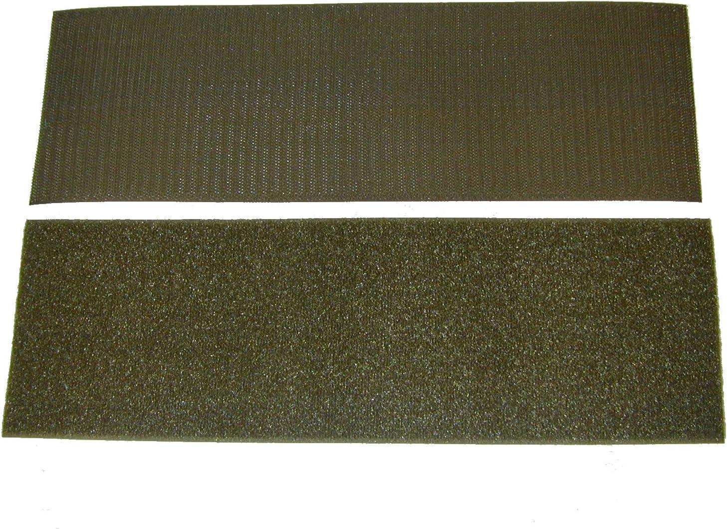 "4/"" Velcro Brand Loop Olive Drab Military Green Sew-on Strip 4/"" x 1 Yard Length"