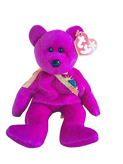 639e5e313e1 Amazon.com  Ty Millennium the Bear Beanie  Toys   Games