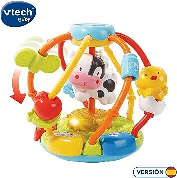 VTech-80-502922 Cuentas muuusicales, sonajero Bola interactiva ...