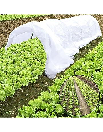 JYCRA Planta Mini invernadero, túnel de cultivo, cubierta de fila de plantas de 0