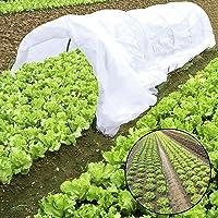 JYCRA Pflanze Mini-Gewächshaus, wachsen Tunnel, Plastik Pflanze Polystyrol Reihe Bezug und 6Stahl mit Kunststoff beschichtete Spannreifen für Gewächshaus Garten Pflanzen Schutz und Growing