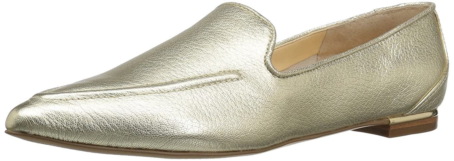 Ivanka Trump Women's Zarina Pointed Toe Flat B01IX3JMTA 8 B(M) US|Gold
