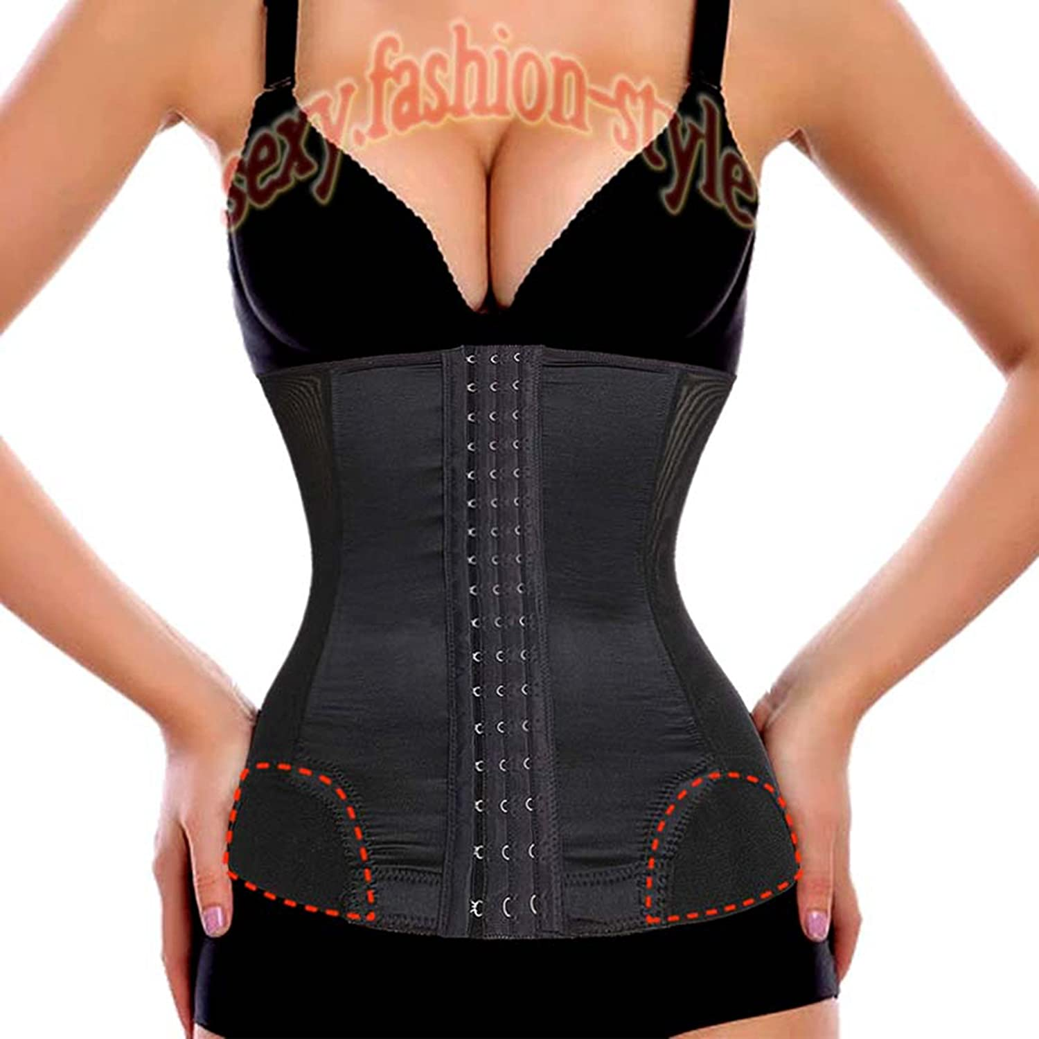BRABIC Waist Trainer Corset Weight Loss Workout Body Shaper Tummy Girdle