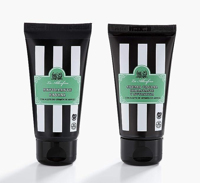 La Albufera - Pack Exfoliante Facial + Crema Facial: Amazon.es ...