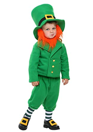 Toddler Wee Little Leprechaun Costume 4T  sc 1 st  Amazon.com & Amazon.com: Toddler Wee Little Leprechaun Costume 4T: Clothing
