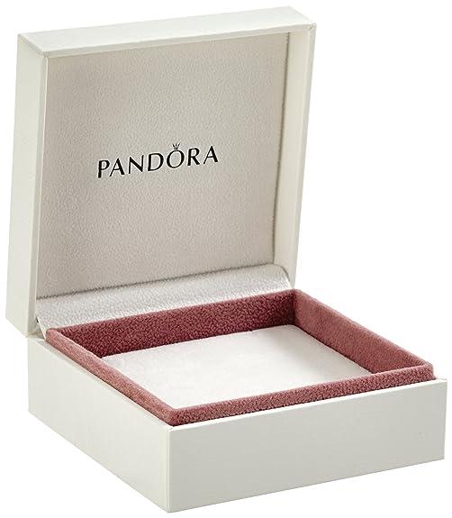 Pandora Original White Jewellery Gift Box 9cm x 9cm x 5cm: Amazon ...