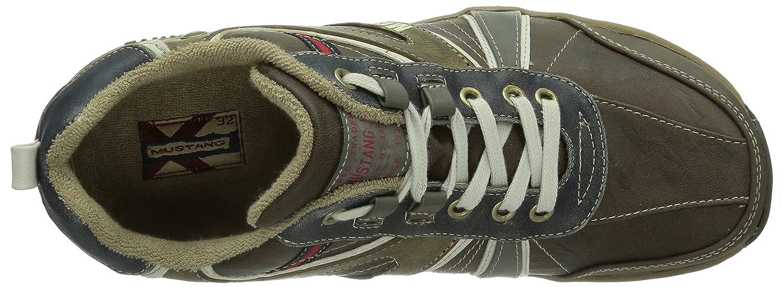 Mustang 4085-303-32, Dunkelbraun) Herren Sneaker Braun (32 Dunkelbraun) 4085-303-32, ac1185
