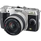 Pentax Q7 12MP 1/1.7-inch CMOS Mirrorless Camera with 5-15mm Zoom Lens (Silver)
