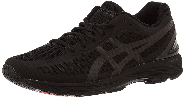 Asics Gel-DS Trainer 23, Zapatillas de Running para Hombre 44 EU|Negro (Black/Black/Flash Coral 9090)