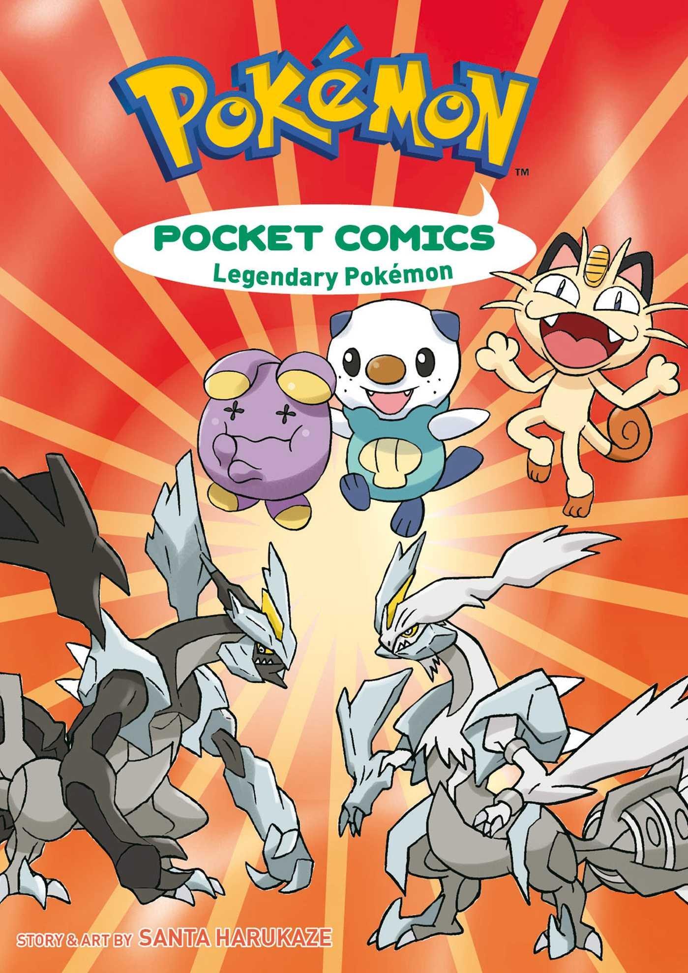 Pokémon Pocket Comics: Legendary Pokémon (Pokemon)