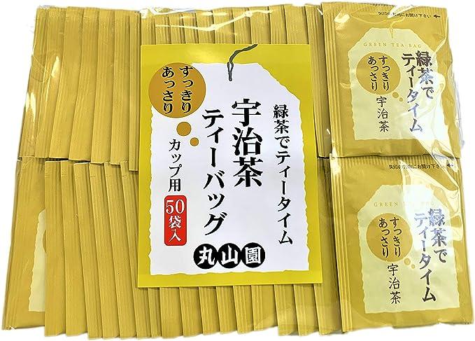 緑茶でティータイム すっきりあっさり宇治茶ティーバッグ 1.8g×50P