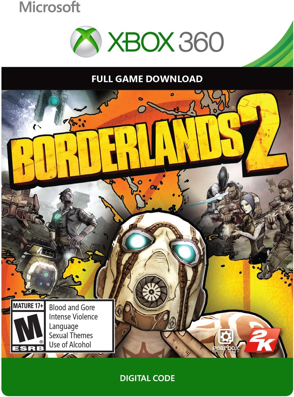 Amazon com: Borderlands 2 - Xbox 360 Digital Code: Video Games