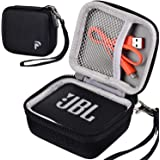 Case Compatible for JBL GO 2/ JBL GO Portable Bluetooth Waterproof Speaker, Travel Storage Bag Holder Fits for USB Cable and