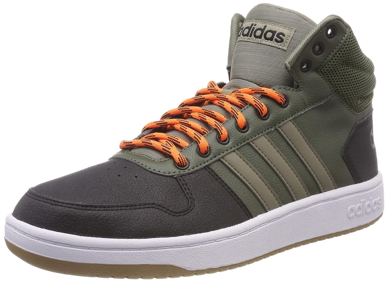 hot sale online 459ab 03d3d Adidas Hoops 2.0 2.0 2.0 Mid, Scarpe da Basket Uomo B07DDTKWGG 39 1 3 EU  verde ...