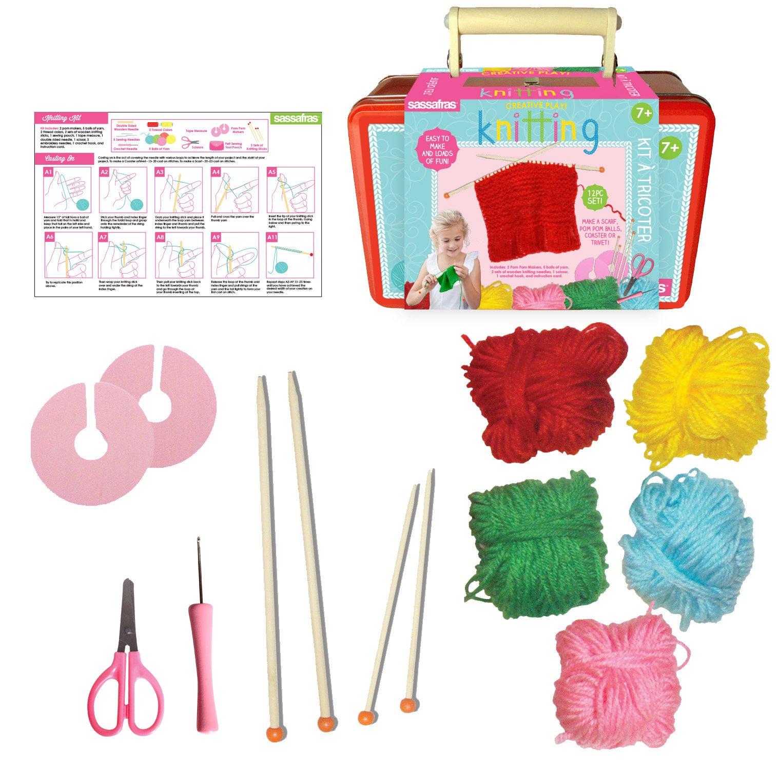 Sassafras Knitting Kit