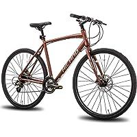 Hiland Road Hybrid Bike Aluminum Frame Disc Brake 700C Wheels 24 speeds Bikes