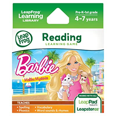 LeapFrog Learning Game: Barbie Malibu Mysteries (for LeapPad Tablets and LeapsterGS): Toys & Games