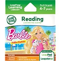 LeapFrog Learning Game Barbie Electronic Entertainment