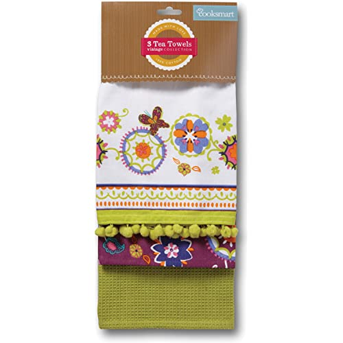 Suzani Retro Tea Towels